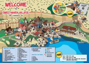 Mapka Popeye Village
