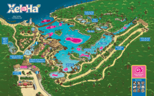 Mapa Xel-Ha