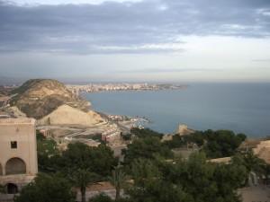 Alicante, widok z Castillo de Santa Bárbara