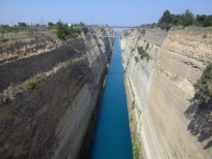 Kanał Koryncki, Grecja