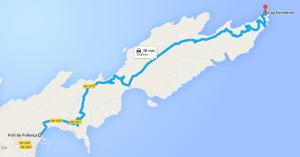 Trasa na Cap Formentor