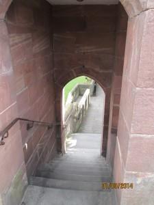 Chester - mury otaczające miasto
