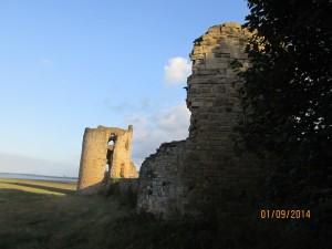 Ruiny zamku we Flint