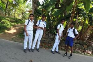 Dzieci idące do szkoły, Sri Lanka
