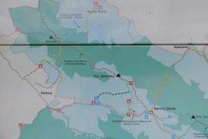 Połonina Wetlińska, mapa, Bieszczady