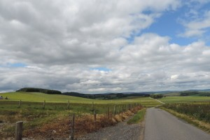 Szkocja, w drodze z Aberdeen do Inverness