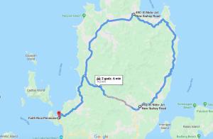 trasa skuterkiem