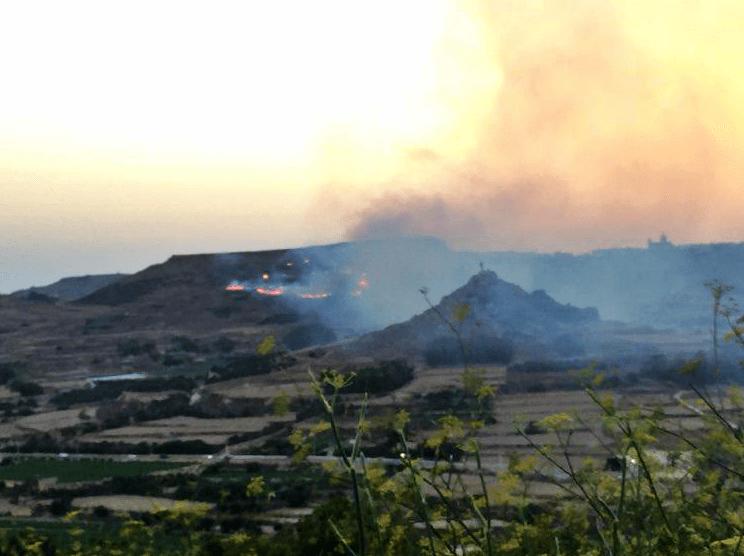 Pożar, Gozo