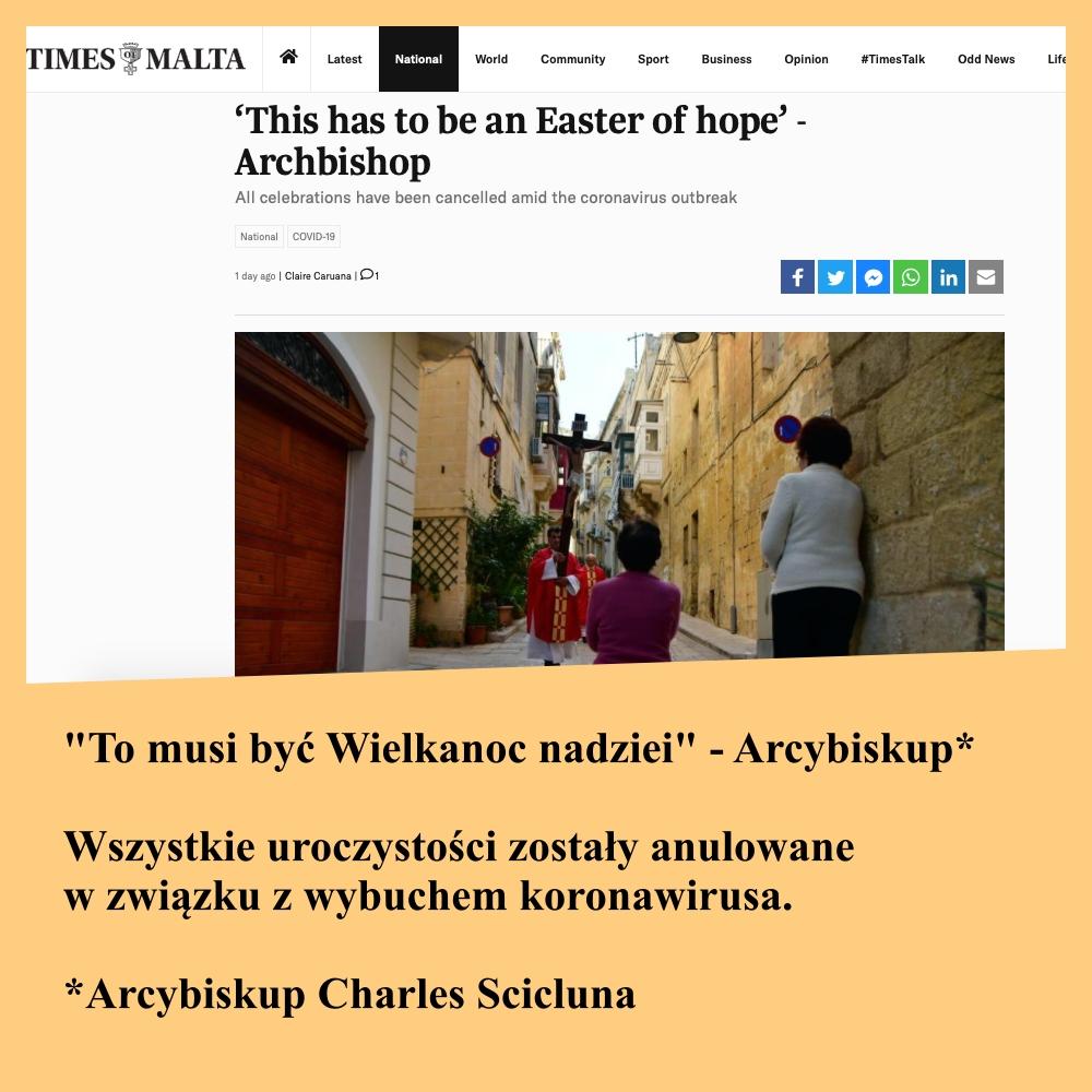 Źródło: Times of Malta