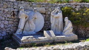 Droga krzyżowa na wzgórze Ta' Għammar - Malta, Gozo