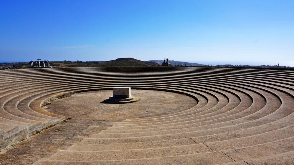 Amfiteatr na wzgórzu Ta' Għammar - Malta, Gozo