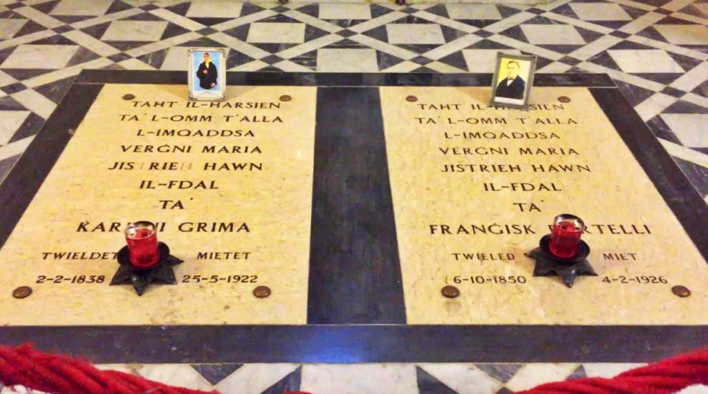 Karmni Grima i Francesco Portelli - krypty